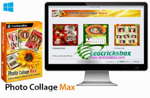 Photo Collage Max v2.3.0.8 + Serial