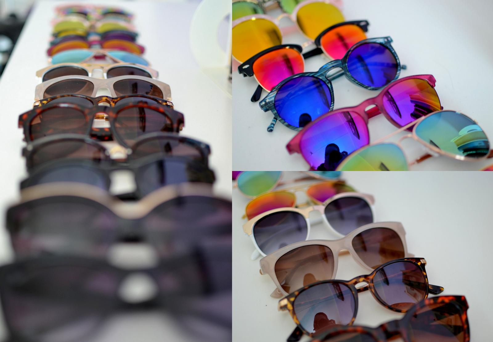 tip ako skladovať slnečné okuliare tak, aby vám nezabrali veľa miesta // how to organize sunglasses and save place