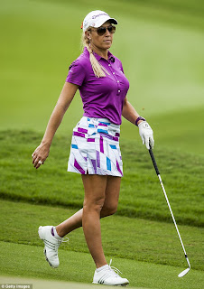 the other paper golfer and model natalie gulbis pulls out of lpga tour because of malaria. Black Bedroom Furniture Sets. Home Design Ideas