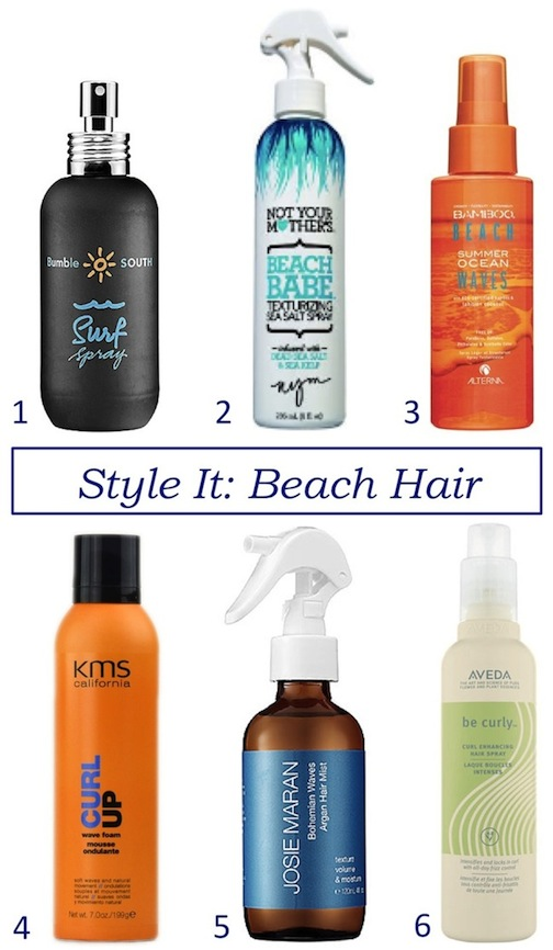 beach waves hair products