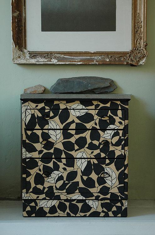 Bryonie porter decoupage vecchi mobili e carte da parati - Decoupage su mobili in legno ...