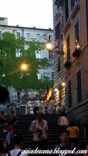 bairro monti tour portugues subida borgia - O bairro Monti em Roma