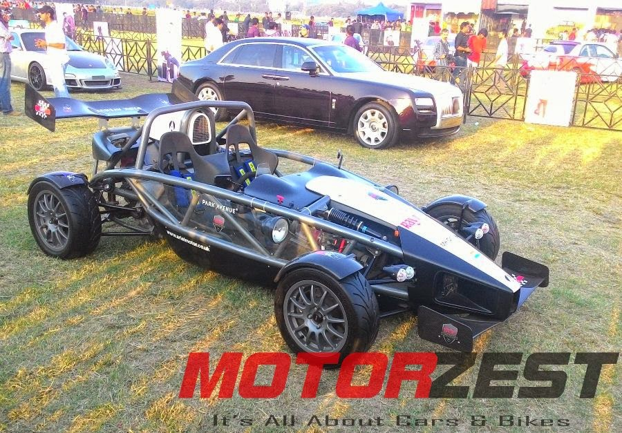 Ariel Atom at 2015 Parx Super Car Show in Mumbai