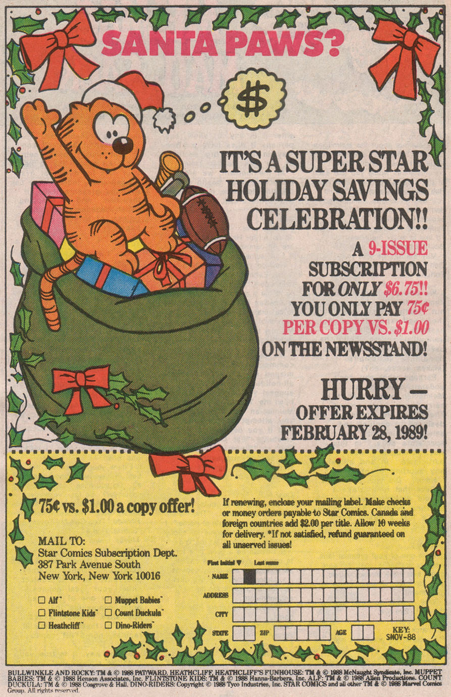 Read online ALF comic -  Issue #13 - 34