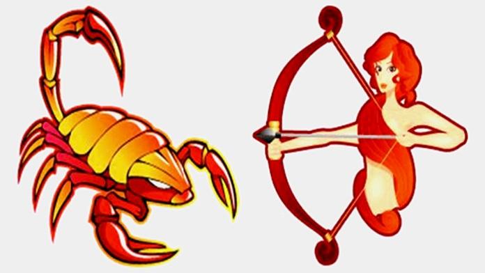 Compatibilità tra Scorpione e Sagittario in amore