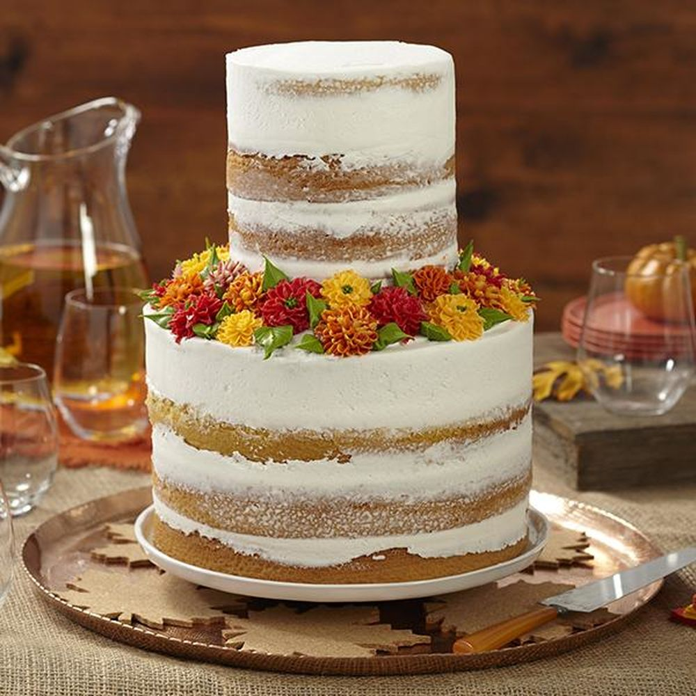 November Birthday Buttercream Cakes