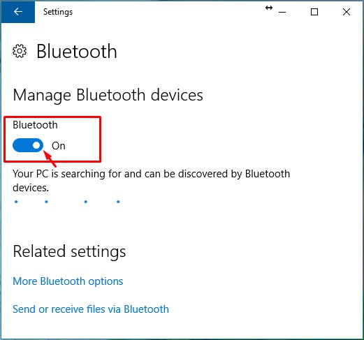 cara mematikan bluetooth di laptop