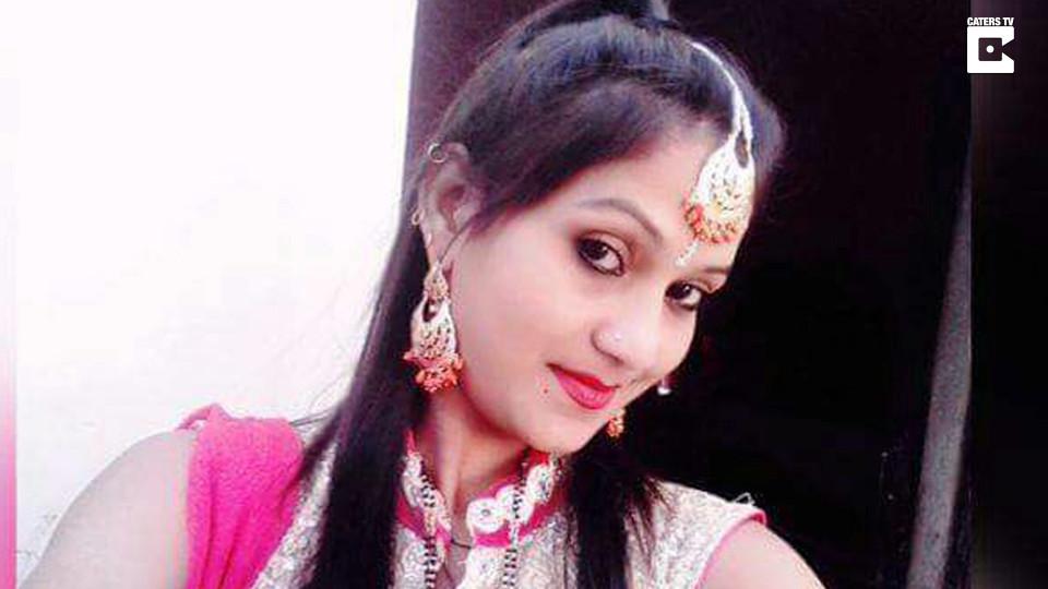 La bailarina, Kulwinder Kaur, de 22 años de edad. FOTO: Especial