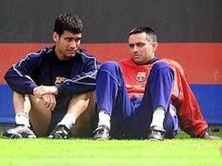 Pep Guardiola dan Mourinho Duduk Bersama