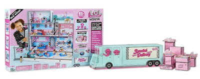 Игровой набор с домиком для кукол Лол Сюрприз MGA Toys