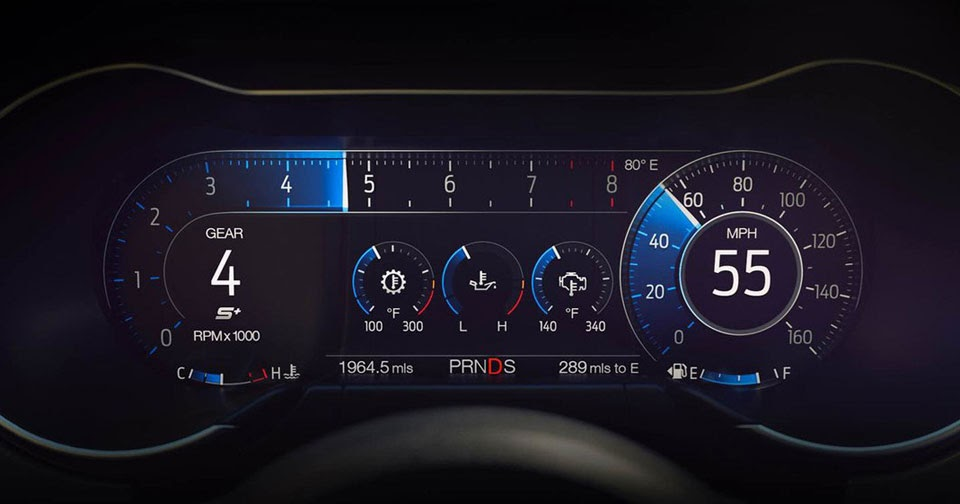 Ford Hides Easter Eggs In 2018 Mustang's Digital Dash