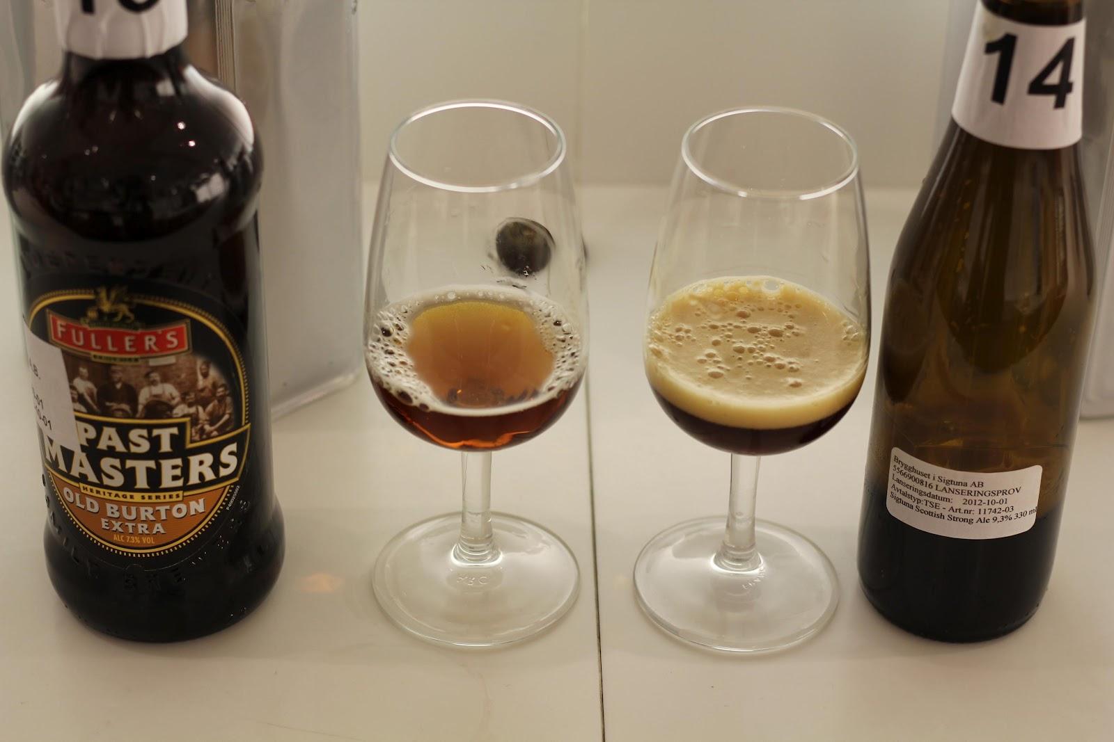 Öl är gott, resor är kul.: Ölskribentsprovning av öl i Systembolagets oktobersläpp 2012