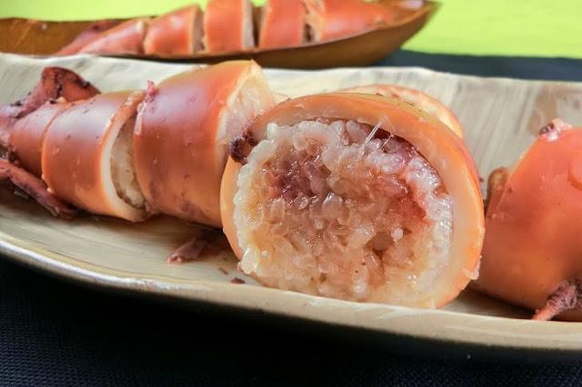圧力鍋で簡単にもち米ふっくら美味しい!いかめしの作り方