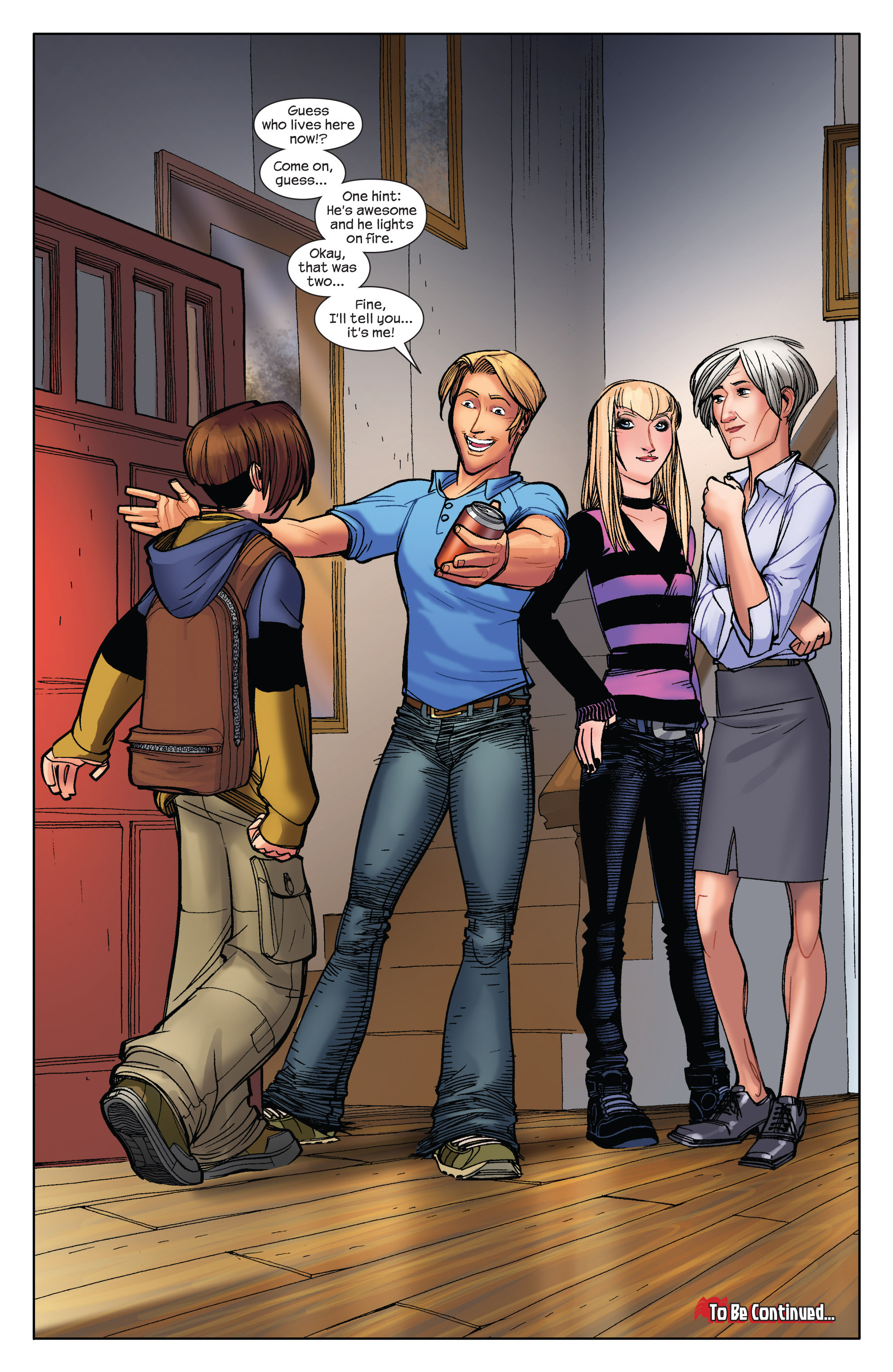 Read online Ultimate Spider-Man (2009) comic -  Issue #3 - 21
