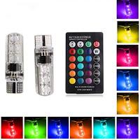 Led T10 Lampu Senja RGB Remote