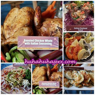 Hidangan Di Sediakan Di Grand BlueWave Hotel Shah Alam