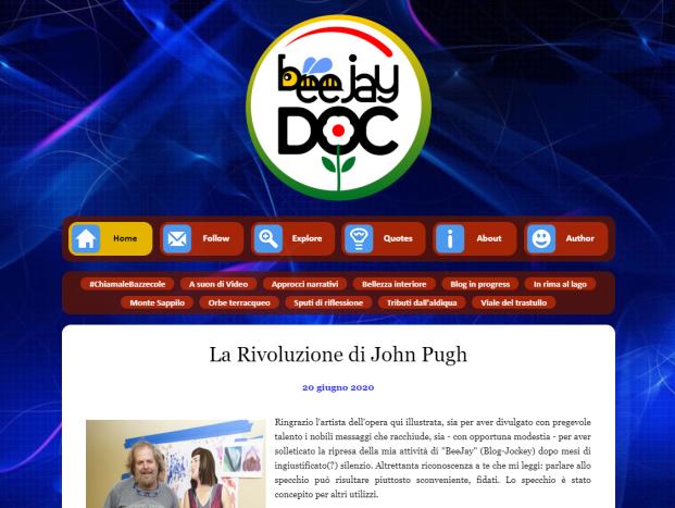 Blog BeeJay DOC, web design, web content, webmaster: Ricontatto.com