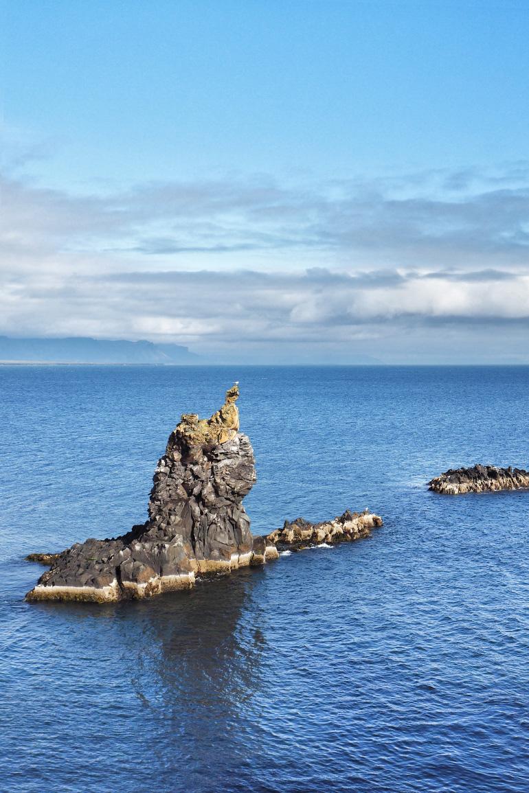 Randonnée à Arnarstapi en Islande