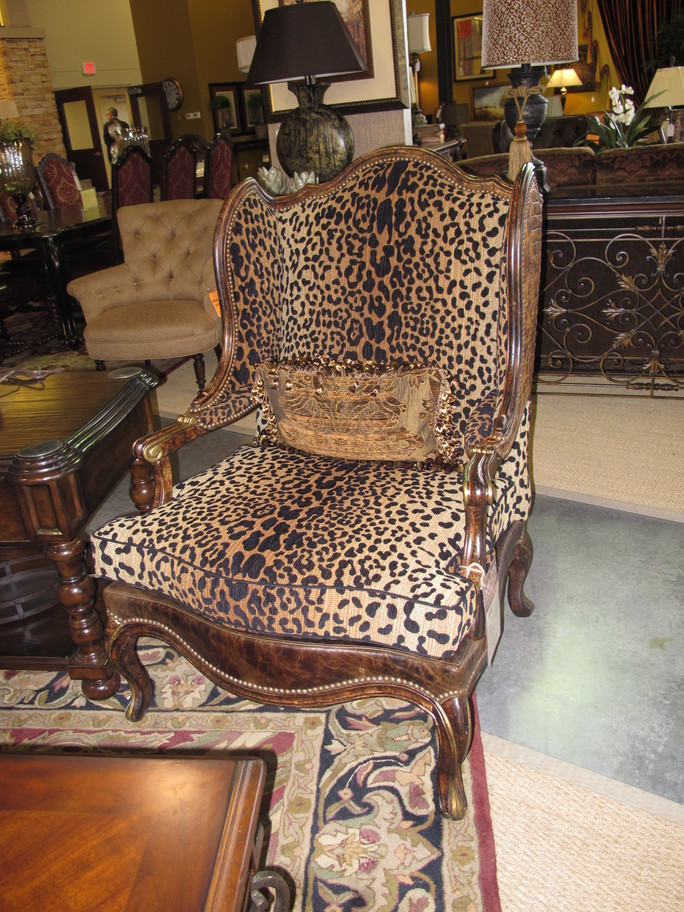 French Country Kitchen Chairs Adirondack On Sale Projects Plenty: Island Stools (& New Leopard Print Chair?)