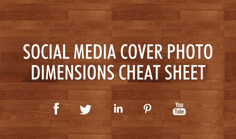 SocialMedia Cover Photo Dimensions: Facebook, Twitter, LinkedIn - infographic