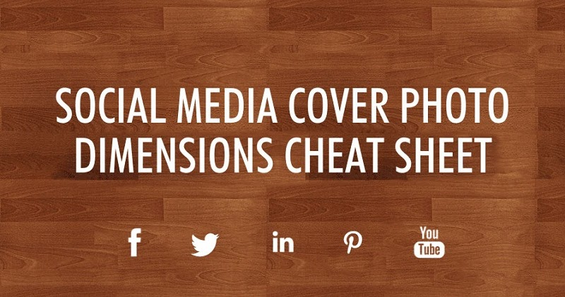 Social Media Cover Photo Dimensions Facebook Twitter