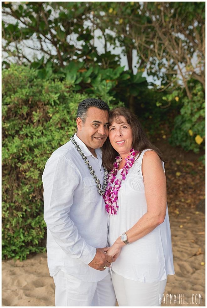 Maui Beach Couples Portrait
