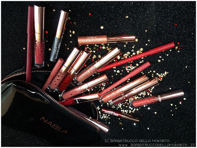 nabla holiday collection liquid lipstick eyeliner   comparazioni