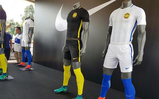 Jelang Piala AFF 2016, Nike Pamer Jersey Malaysia dan Singapura