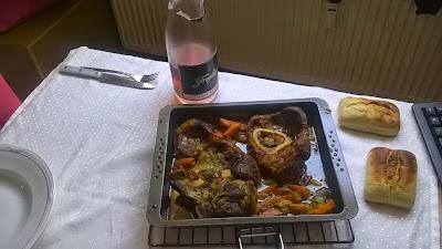 Freixenet Rosé, Ossobucco