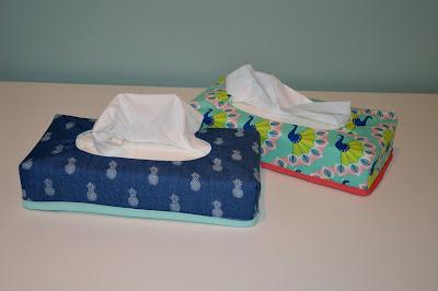zakdoekenhoes, naaien, cadeau voor de juf