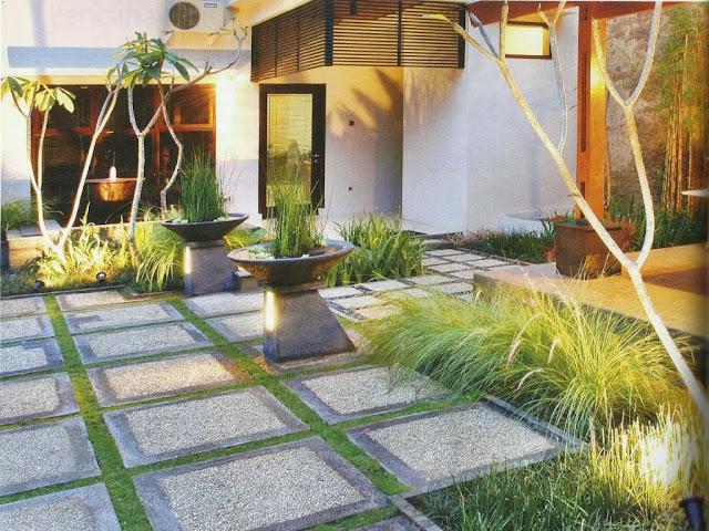 Tukang Taman Bekasi Murah Dan Bergaransi - Contoh Desain Taman Minimalis Halaman Rumah