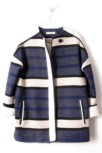Manteau hiver Sessun bleu