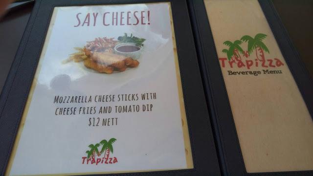 Trapizza菜單 價格