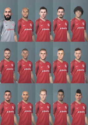 PES 2019 Facepack Sport Club Internacional 2019 by BMPES Patch 2019
