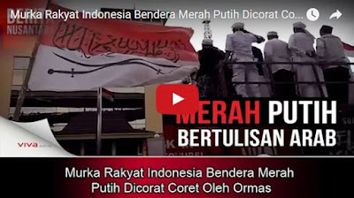 Murka Rakyat Indonesia Bendera Merah Putih Dicorat Coret Oleh Ormas