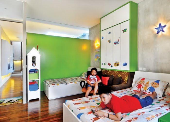 Kamar Tidur Sederhana Untuk Anak