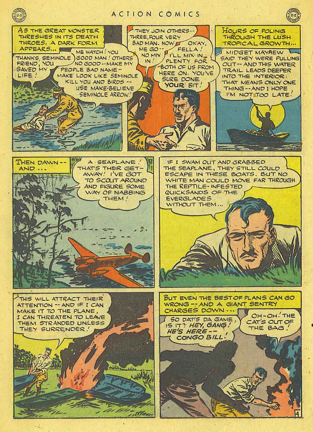 Read online Action Comics (1938) comic -  Issue #78 - 33