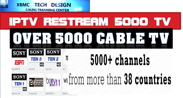 OVER 5000 CHANNEL NEW M3U IPTV   RESTREAM M3u IPTV Channel Download FREE Cable Channel M3u IPTV For IPTV- KODI/VLC