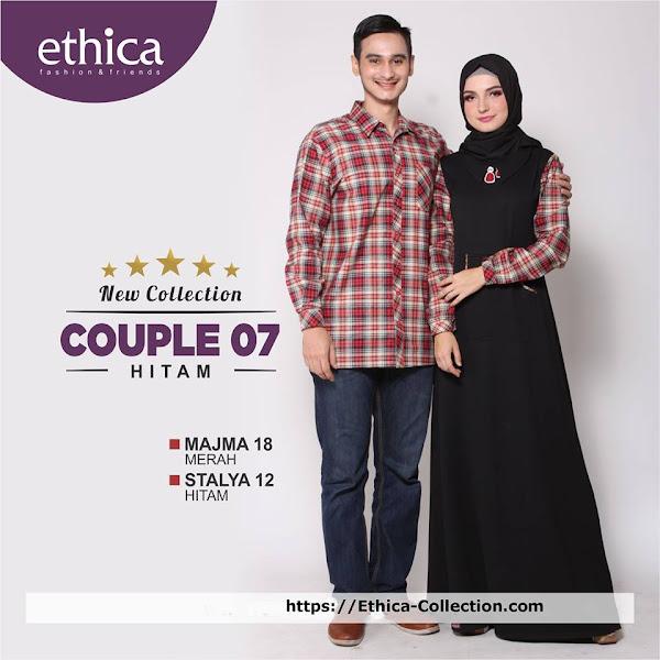 5 Model Baju Monochrome Ethica Fashion Busana Muslim Keluarga 2018