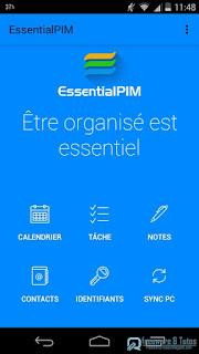 EssentialPIM : votre gestionnaire d'informations personnelles multitâches