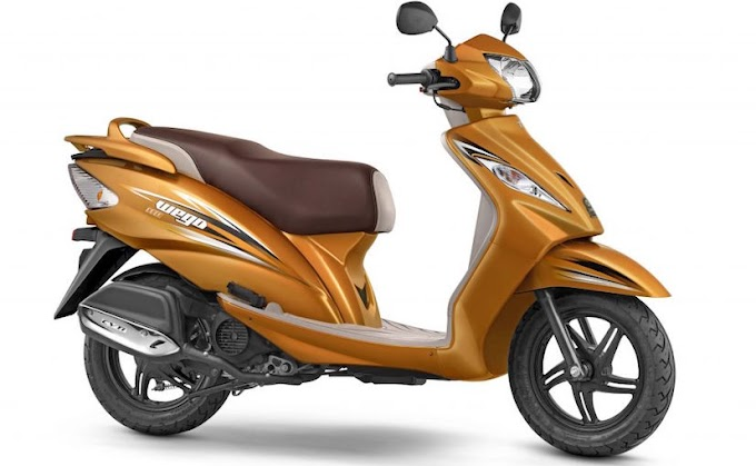 New TVS Wego 2017 Scooter with BS IV compliance Launched at Rs 50,434 in India
