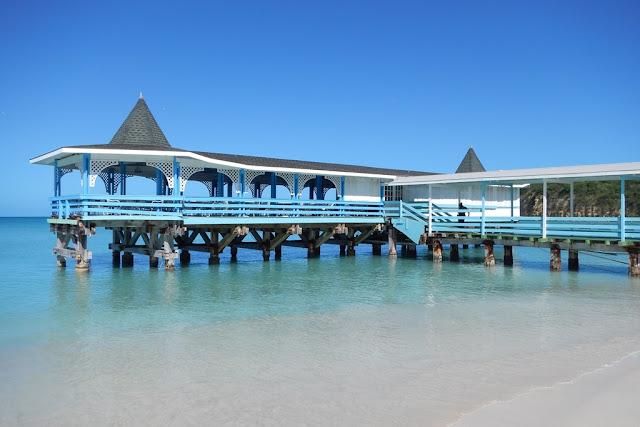Dickenson Bay Antigua pier