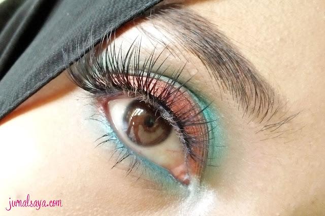 eye make up tanpa eyeliner