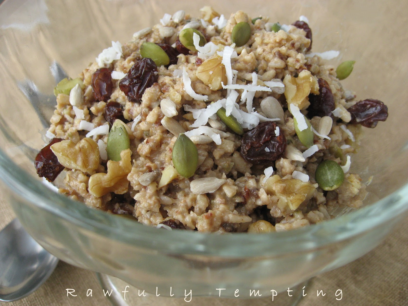 Fabulous Living Oatmeal