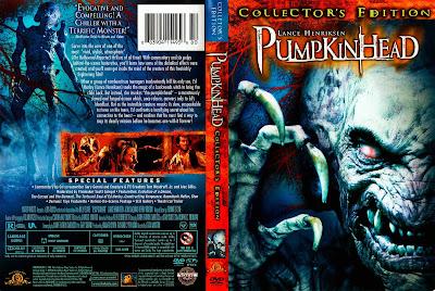 Filme Pumpkinhead - Sangue Demoníaco DVD Capa