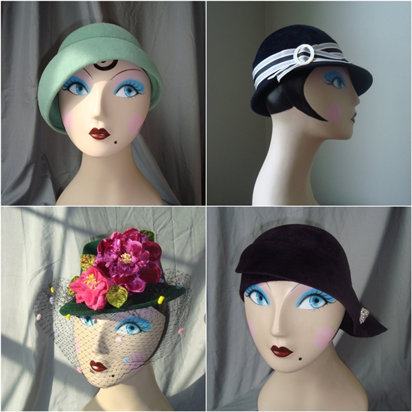 lady eve millinery vintage inspired hand made hats