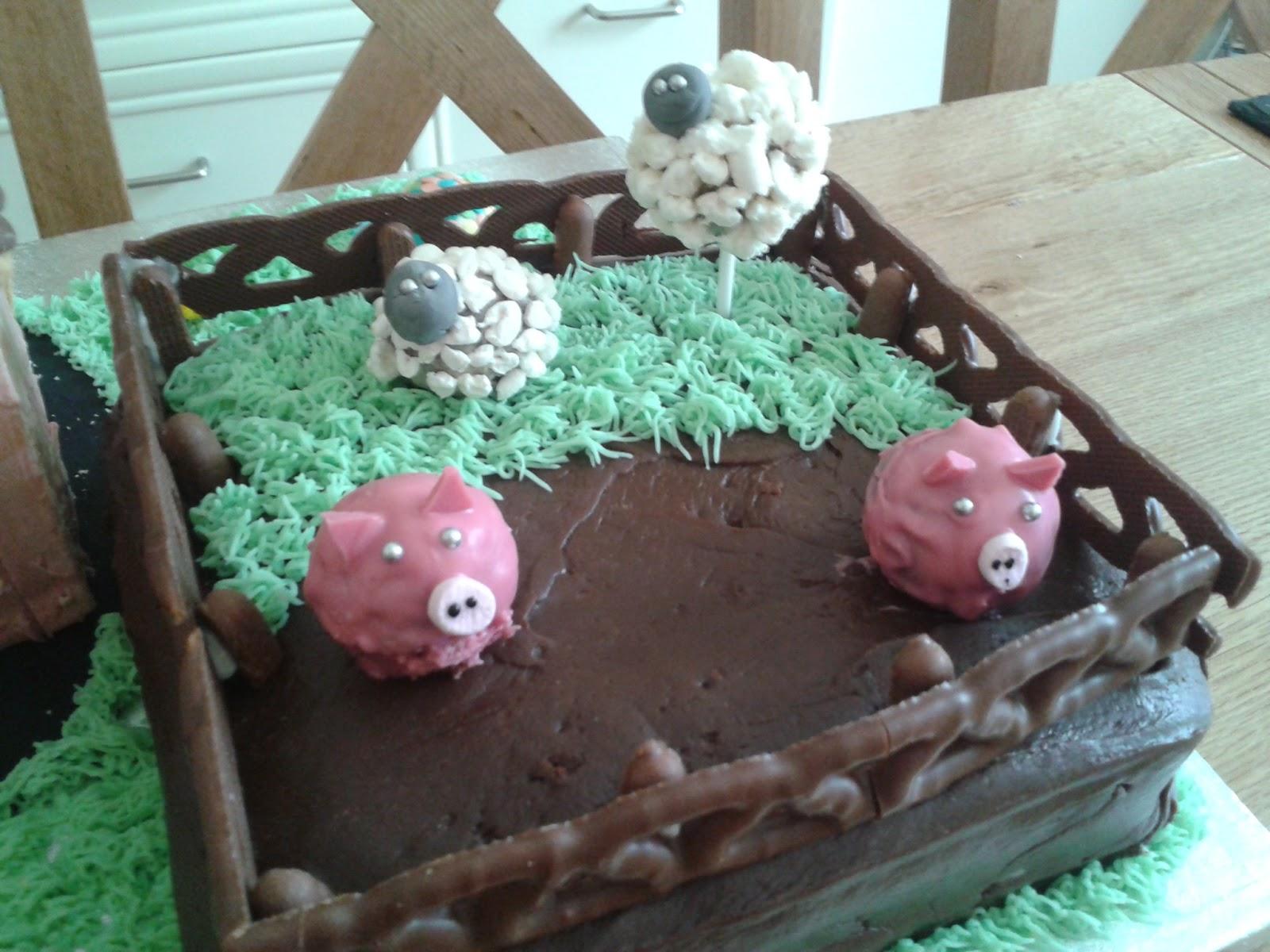 Pigpen Cake Cake Recipe