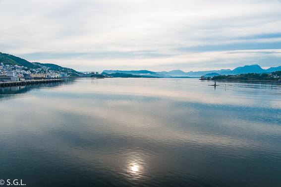Alesund desde Hurtigruten. Noruega