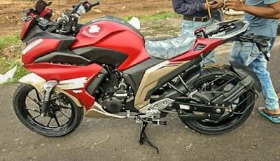 Desain Yamaha Fazer 250 India banget ya?