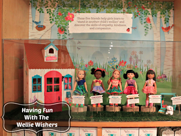 Having Fun With The Wellie Wishers from American Girl
